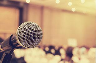 Speaking microphone